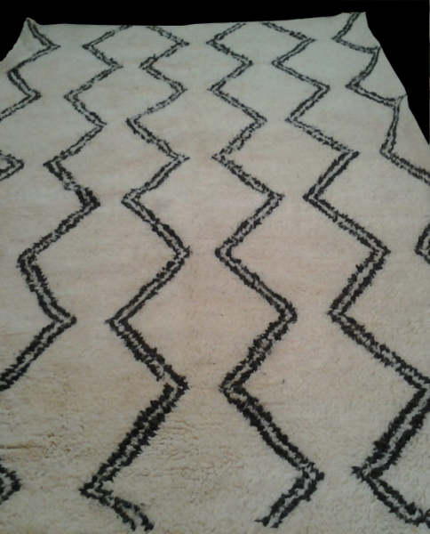 BENI OURAIN WAVES RUG