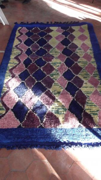 BOUJAD ONE OF A KIND BERBER CARPET