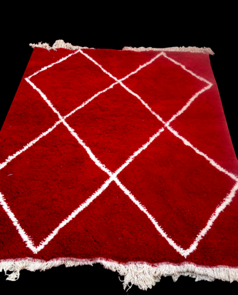 RED BENI OURAIN RUG
