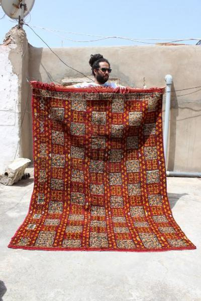 Authentic Handmade Moroccan Carpet