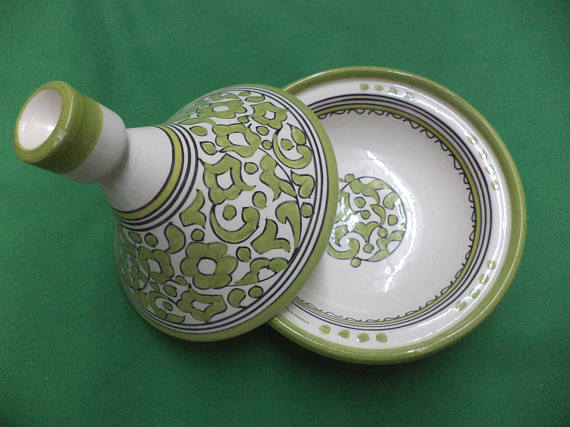 Lovely Moroccan handmade tagine Moroccan pottery
