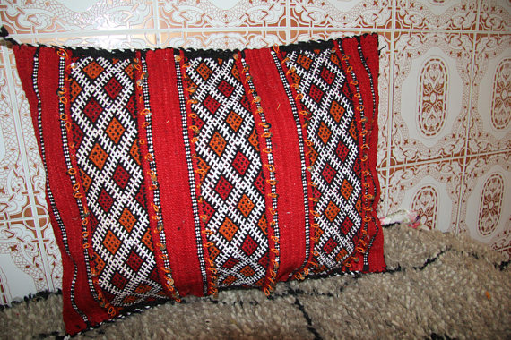 Moroccan Tribal Berber Pillow