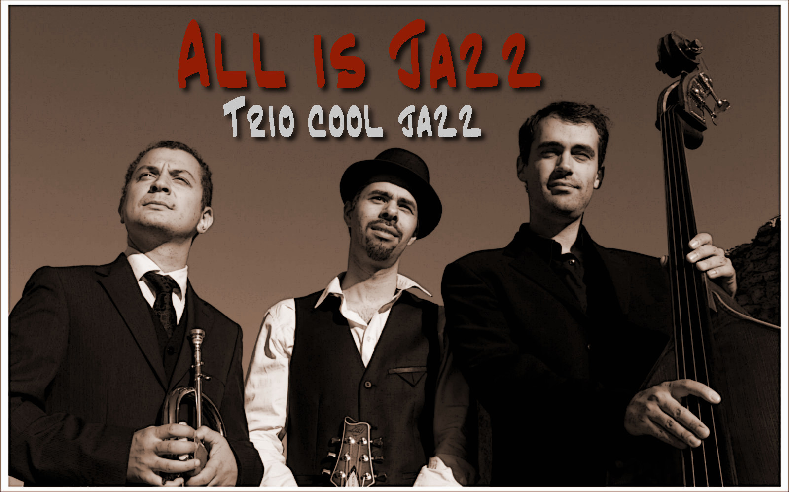 All is Jazz, le trio cool jazz idéal pour vos cocktails. album