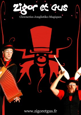 Le spectacle de Zigor et Gus, clowns jongleurs  album