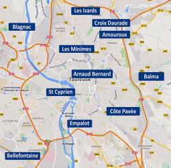 QUARTIERS ET PEUPLES DE TOULOUSE : Comment s�est form�e notre � communaut� urbaine � ?