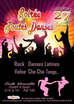 Soir�e Rock et Toutes Danses de Salon � Aix en Provence