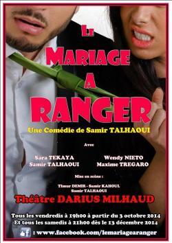 LE MARIAGE A RANGER