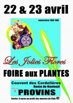 les Jolies Flores de Provins Foire aux plantes 2017