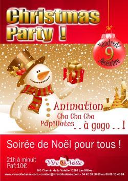 Soirée Rock et Danses de Salon Christmas Party..!