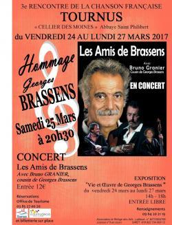 Hommage à Georges Brassens - Concert Les Amis de Brassens