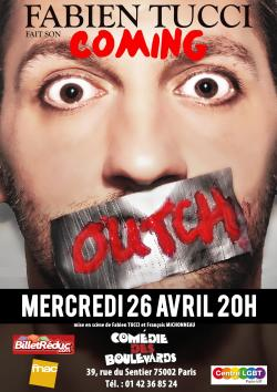 Fabien Tucci fait son Coming Outch