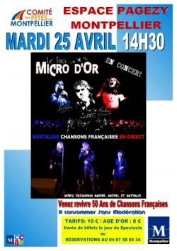 Concert de chansons francaises