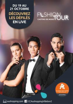 Fashion Tour 2017 : un défile mode inédit à Villebon-sur-Yvette