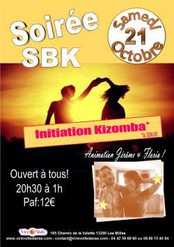 Soirée SBK avec Initiation Kizomba