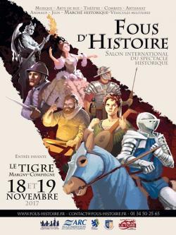 Fous d'Histoire Compiègne - Salon du spectacle historique