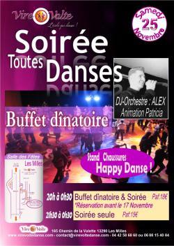 Grande Soirée Dansante avec Repas et DJ Orchestre..!