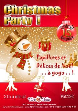 Soirée Toutes Danses de Salon Christmas Party