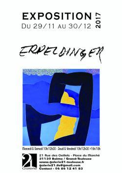 Exposition Yvan Erpeldinger à la Galerie 21 Balma