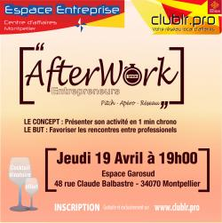 Afterwork Entrepreneurs d'Avril