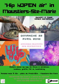 Hip hOP'EN Air à Moustiers