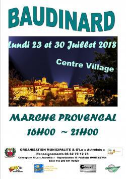 marche provencal semi nocturne
