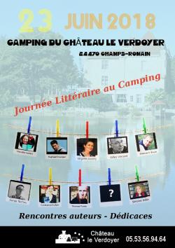 Rencontre littéraire au Château du Verdoyer