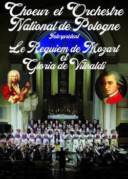 Choeur et Orchestre National de Pologne interprètent Requiem de Mozart - Gloria de Vivaldi
