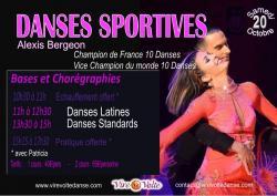 Stage de Danses Sportives avec Alexis Bergeon