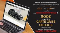 Vend Mon Auto - Remise Exceptionnelle - Samedi 15 décembre