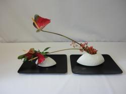 L'ikebana ou l'art de faire vivre les fleurs