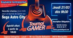 Espace Entreprise Montpellier vous invite à un Tournoi Gamer