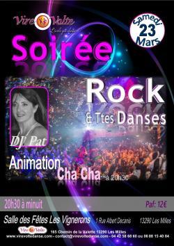 Soirée Rock et Toutes Danses avec Animation Cha Cha Cha