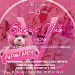 Pyjama Party | Samedi 23 Mars
