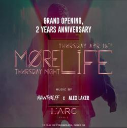 More Life x L'Arc Paris - Grand Opening April 18th