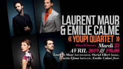 Concert YOUPI 4tet au Baiser Salé