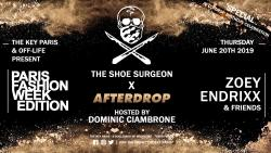 Off Life x The KEY Paris PFW Party - The Shoe Surgeon/Afterdrop