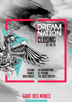 22 septembre 2019 // CLOSING ● DREAM NATION FESTIVAL // PARIS