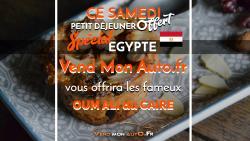 Samedi 17 AOUT -Spécial Egypte