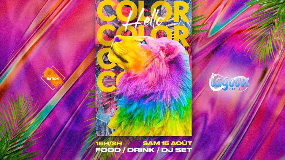 Hello Color: Pool Party & Club