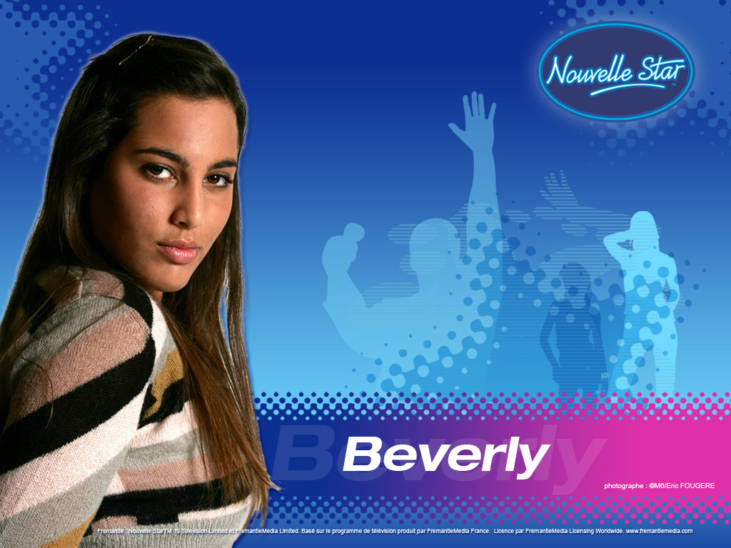 Wallpaper Beverly La Nouvelle Star