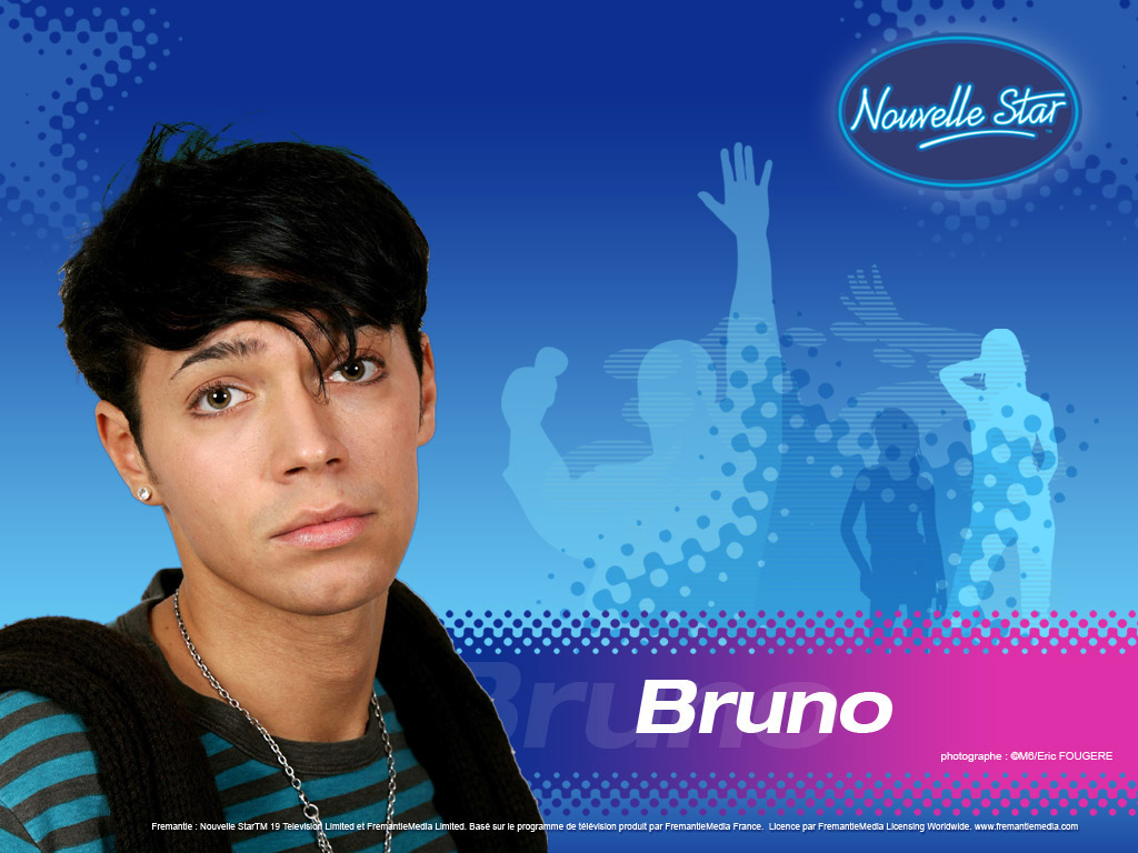 Wallpaper Bruno La Nouvelle Star