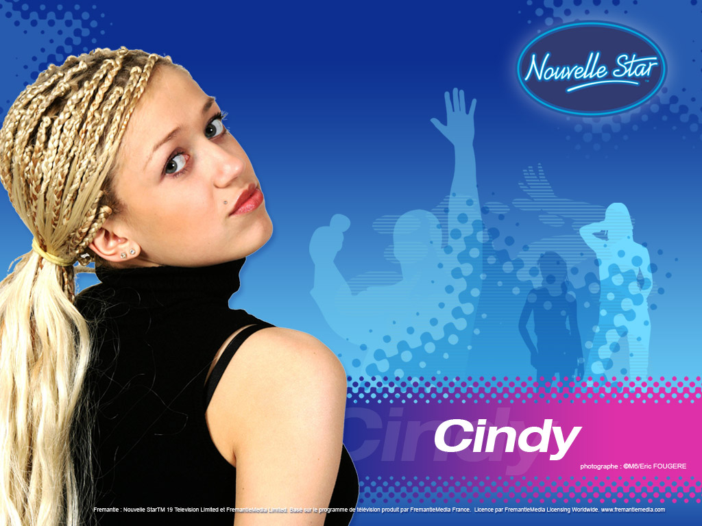 Wallpaper Cindy La Nouvelle Star