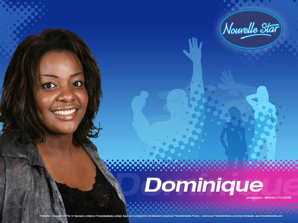 Wallpaper La Nouvelle Star Dominique