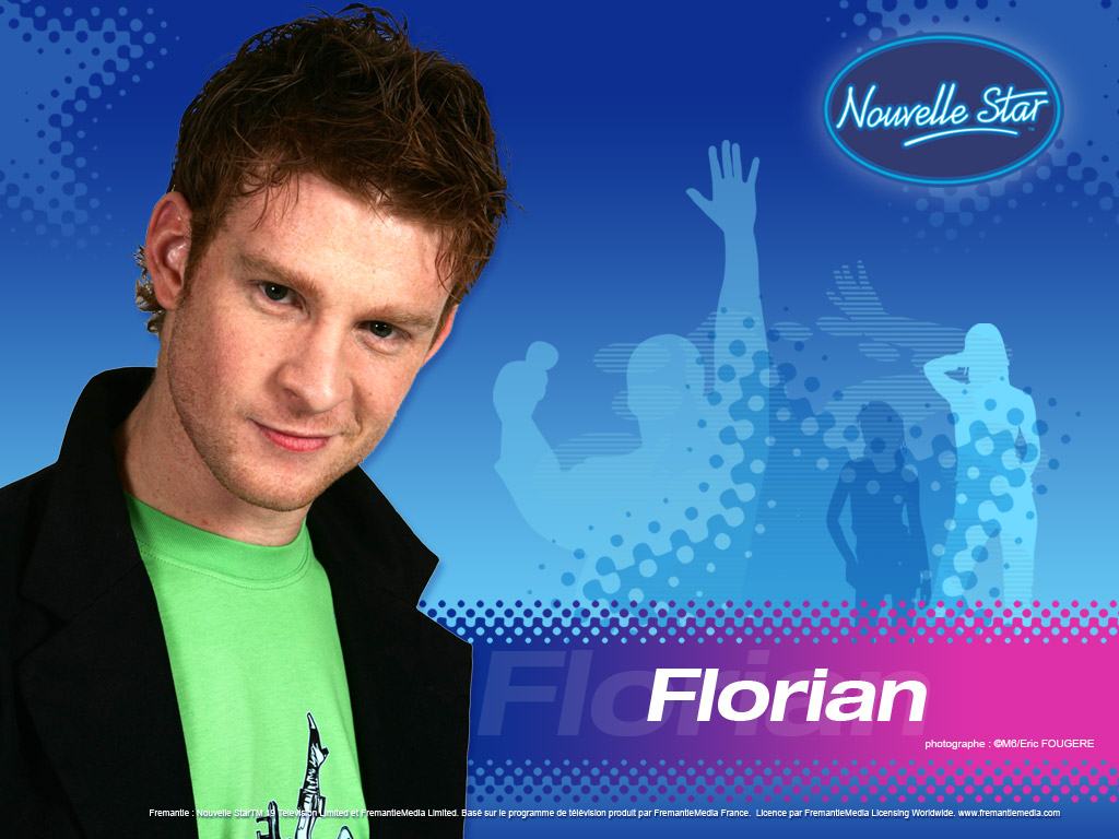Wallpaper La Nouvelle Star Florian