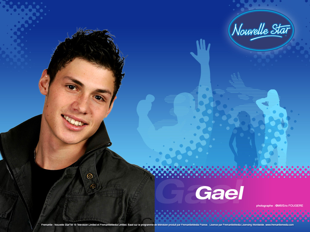 Wallpaper Gael La Nouvelle Star