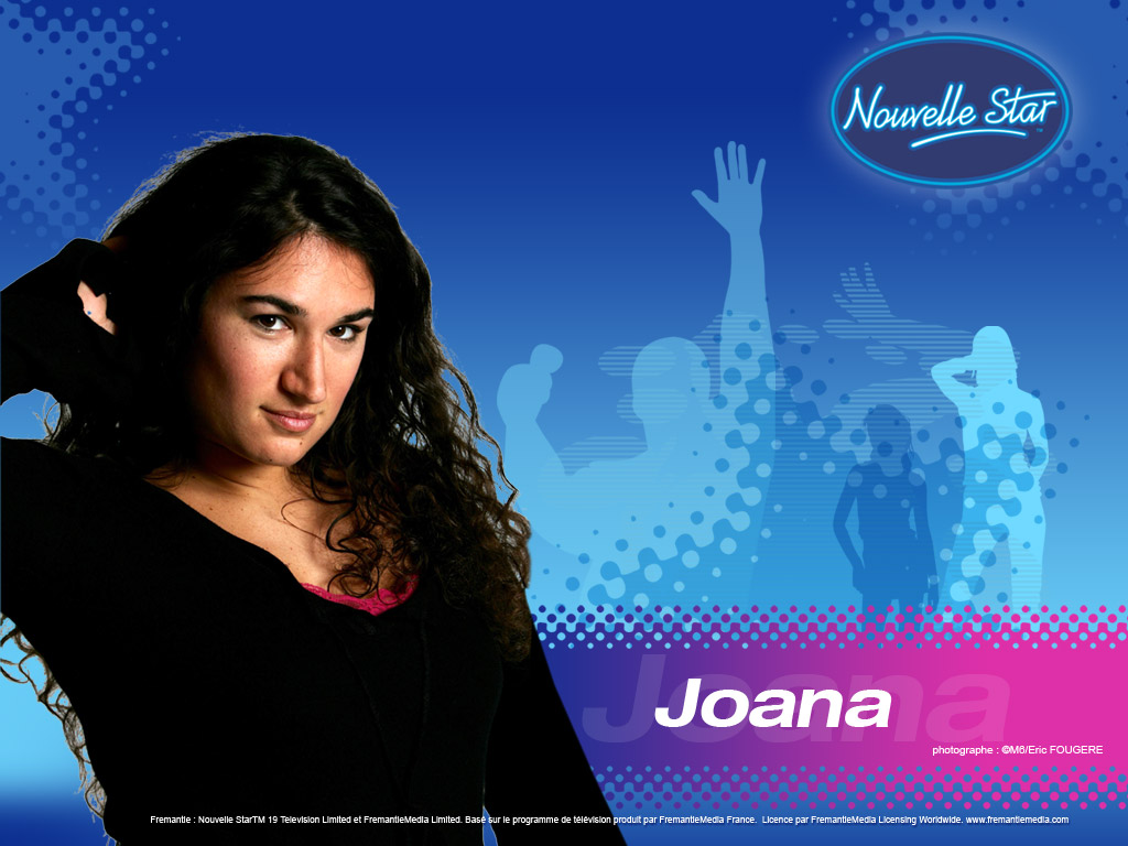 Wallpaper La Nouvelle Star Joana