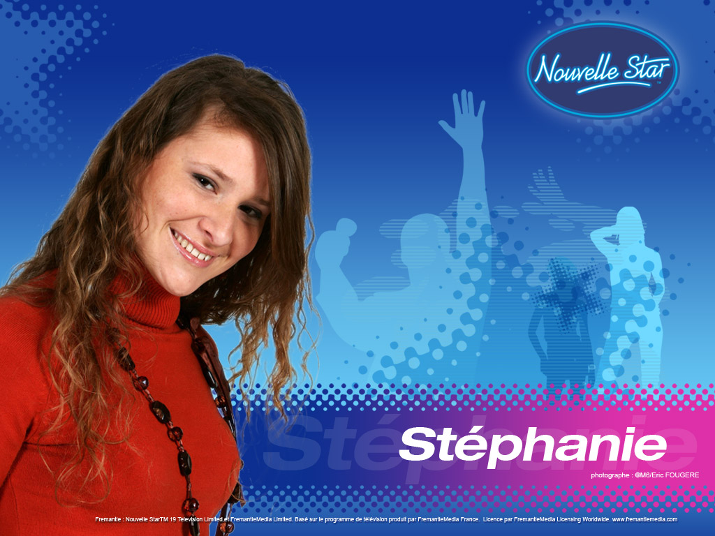 Wallpaper Stephanie La Nouvelle Star
