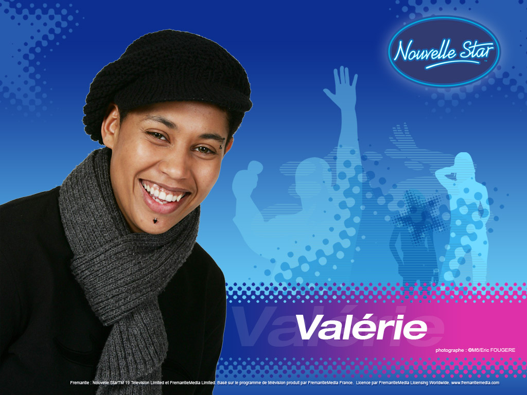 Wallpaper La Nouvelle Star Valerie