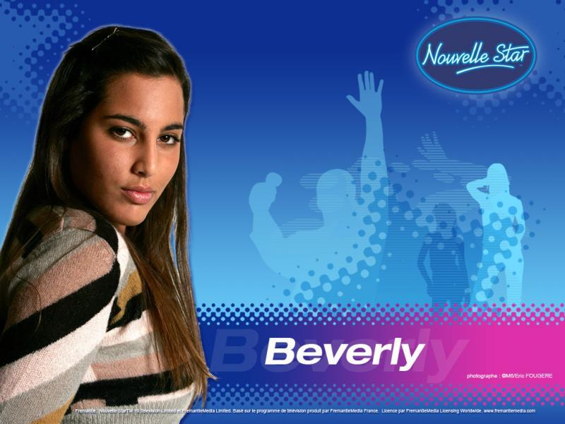 Wallpaper Beverly La Nouvelle Star
