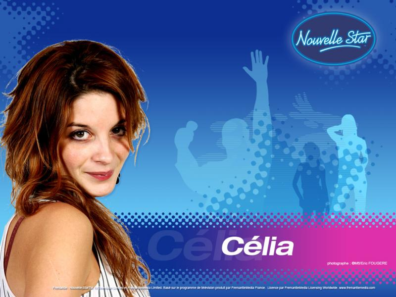 Wallpaper Celia La Nouvelle Star